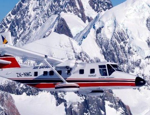 Gletscherflug und andere tolle Preise zu gewinnen
